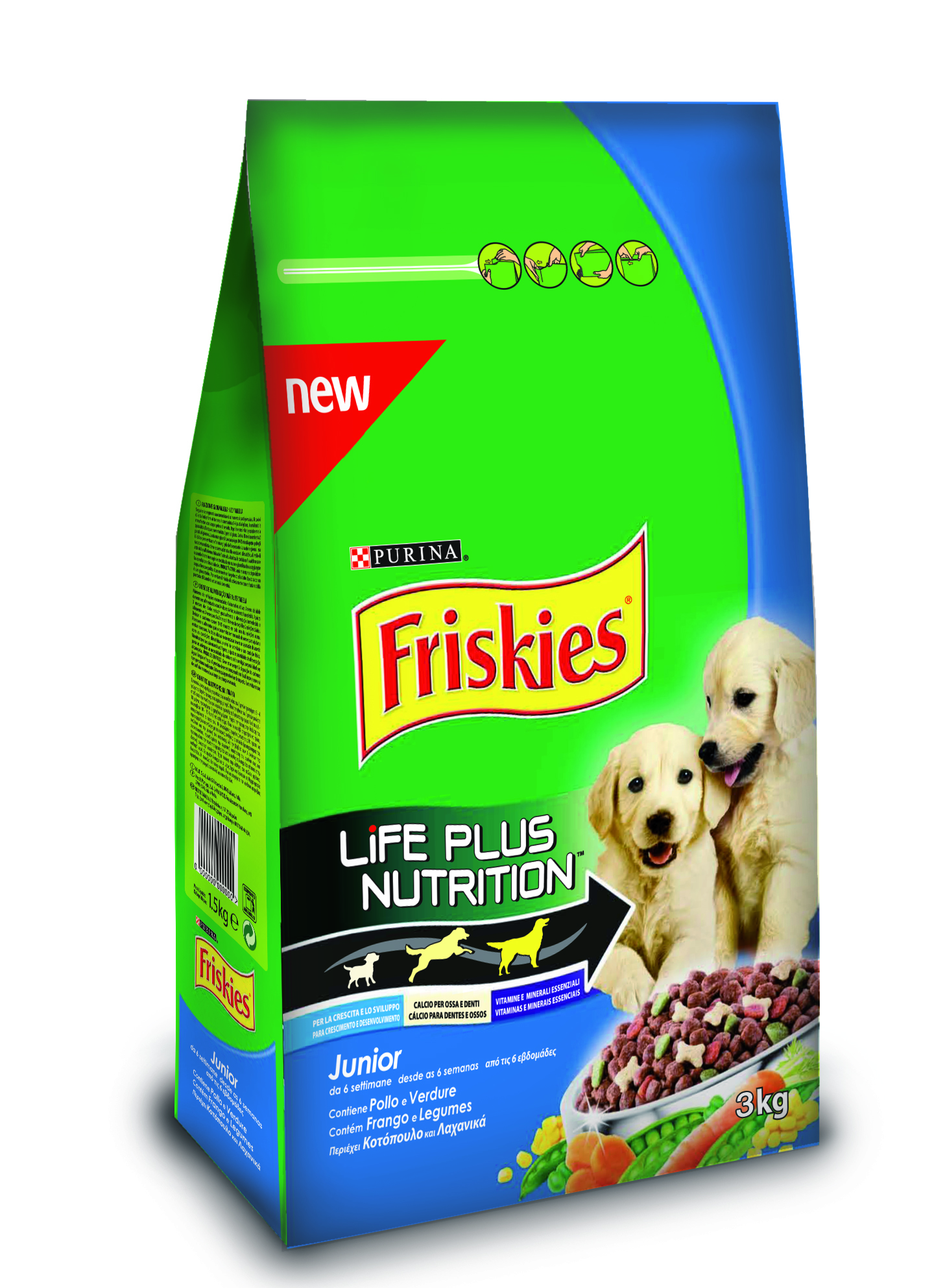 PURINA - FRISKIES LIFE PLUS NUTRITION