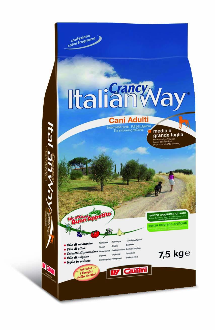 """GIUNTINI - CONAGIT - Crancy Italian Way """"Ricetta del Buon Appetito"""" per cani di taglia medio-grande"""