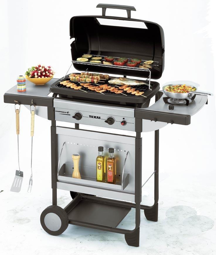 CAMPING GAZ ITALIA SRL - Barbecue Texas De Luxe